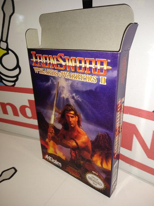 Iron Sword: Wizards & Warriors II Box