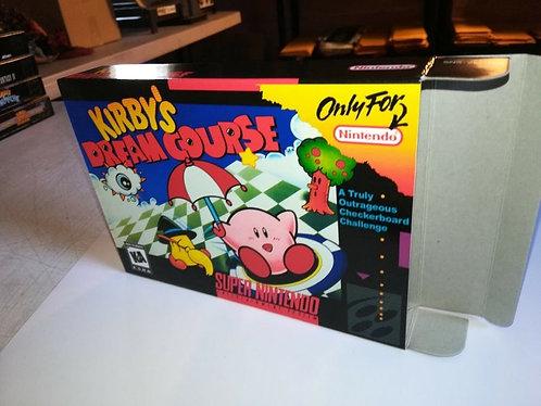 Kirby's Dream Course Box