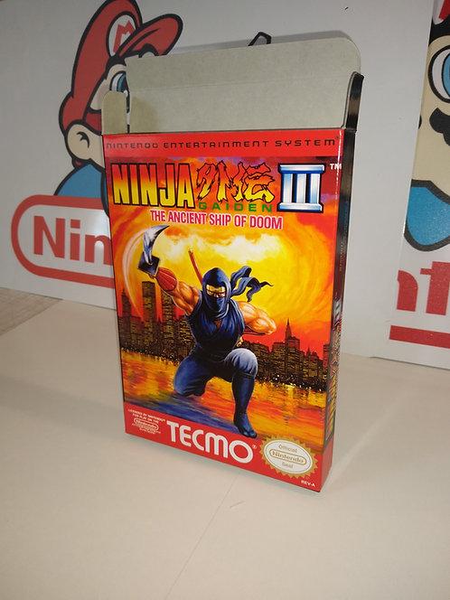 Ninja Gaiden III: The Ancient Ship of Doom Box