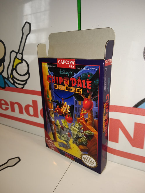 Chip 'n Dale Rescue Rangers Box