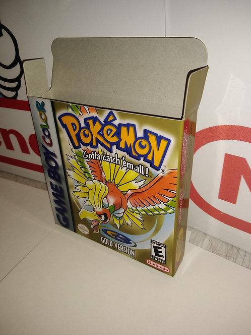Pokemon Gold Box