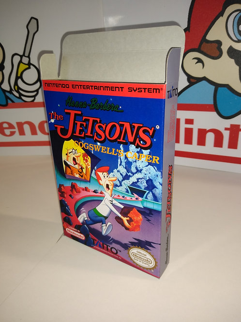 The Jetsons: Cogswell's Caper! Box