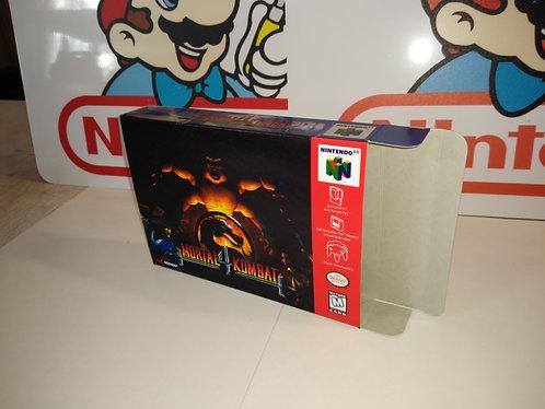 Mortal Kombat 4 Box