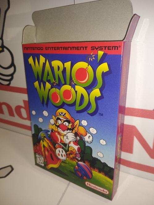 Wario's Woods Box