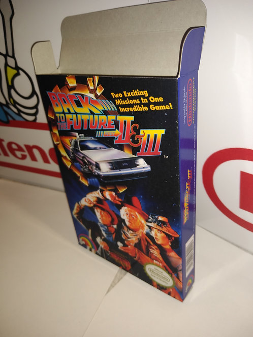 Back to the Future 2 & 3 Box