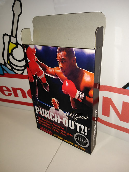 Mike Tyson's Punch Out!! (First Edition) Box