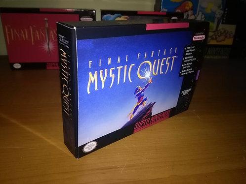 Final Fantasy Mystic Quest Box