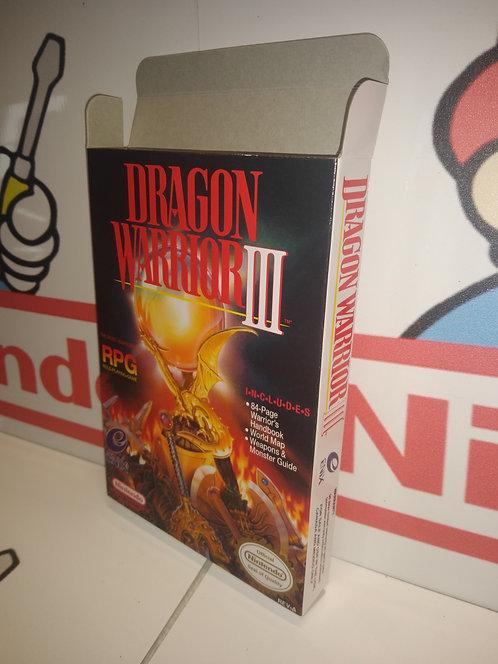 Dragon Warrior III (3) Box