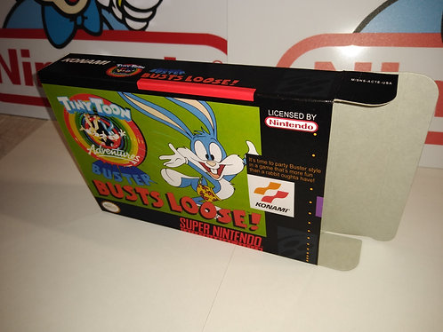 Tiny Toon Adventures Buster Busts Loose Box