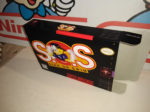 S.O.S. Sink or Swim Box