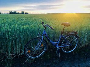 Van olyan táj, amit bicajjal édemes bejárni. Ám mi szeretünk letérni a fő túrautakról