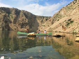 Vadnyugat az Adrián - Winnetou-kanyon vízitúra