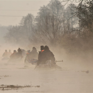 Téli Hévíz-patak hangulat