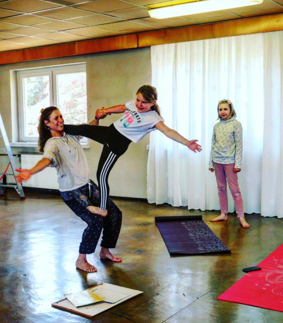 Kids Yoga 7 - 12 Jahre