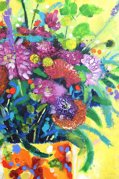 """""""Scraping Through - Floral Bouquet"""" Artwork By Cor"""