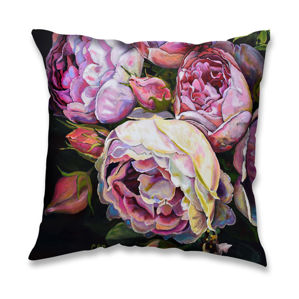 Seasons Of Life Artwork Throw Pillow By