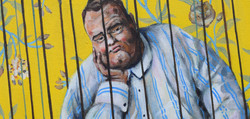Jailbird Work By Artist Cor Diplayed ban
