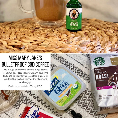Miss Mary Jane's CBD Bulletproof Coffee