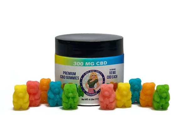 CBD Gummies - 300 mg - 30 Count