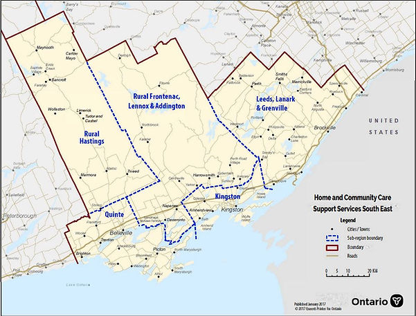 HCCSS map of the South Eastern Area.JPG