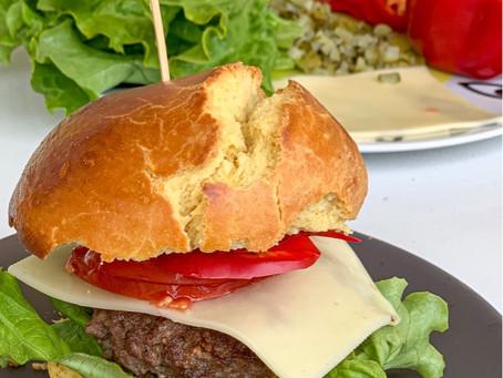zakaj si hamburgerjev ne bi naredili sami doma?