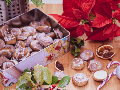 božični medeni kolački