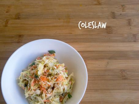 COLESLAW (kremasta solata iz zelja in korenja)