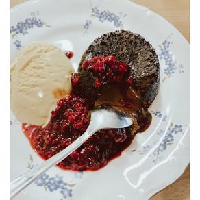 lava cake - vulkanček