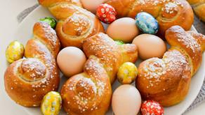 velikonočni zajci - bagels