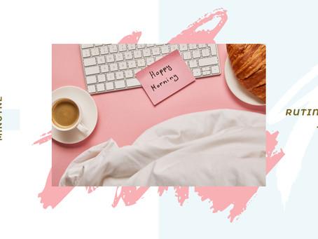 preproste pet minutne rutine za dobro jutro