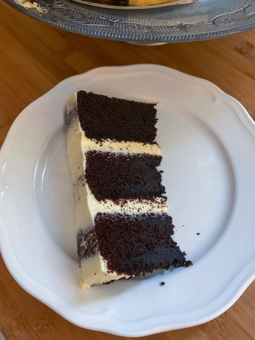 Magnolia kitchen signature chocolate cake, helenine čarovnije, chocolate cake, magnolia kitchen, bernadette, dessert, cake, baked goods