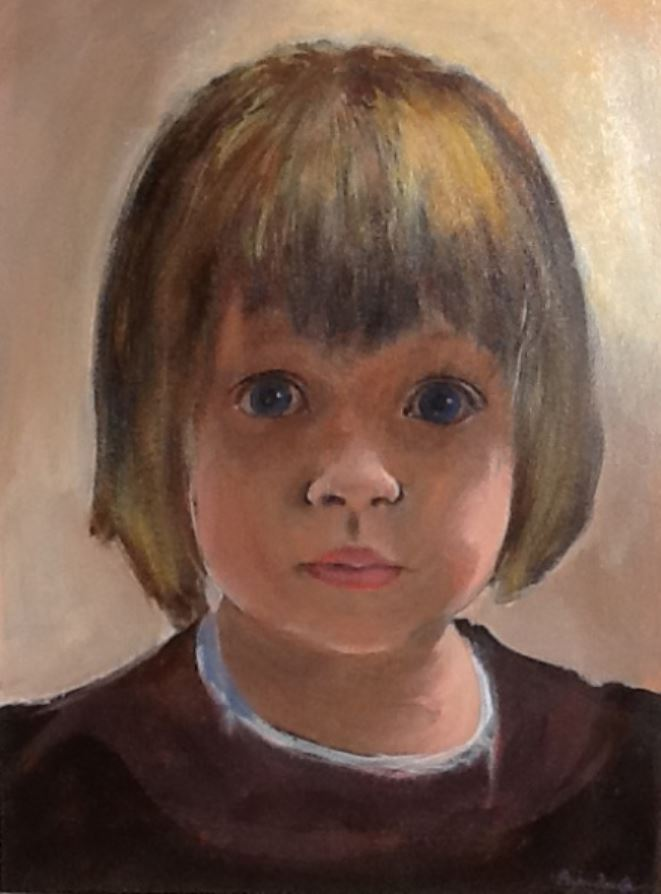 Portrait of a Young Girl by Bryan Fowler