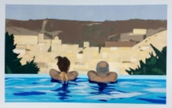Swimmers Gazing by Nandita Hoyes