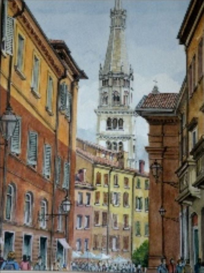 Steeple by Mike Parry