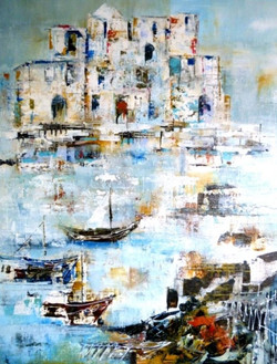 Italian Harbour by Susan Lyall