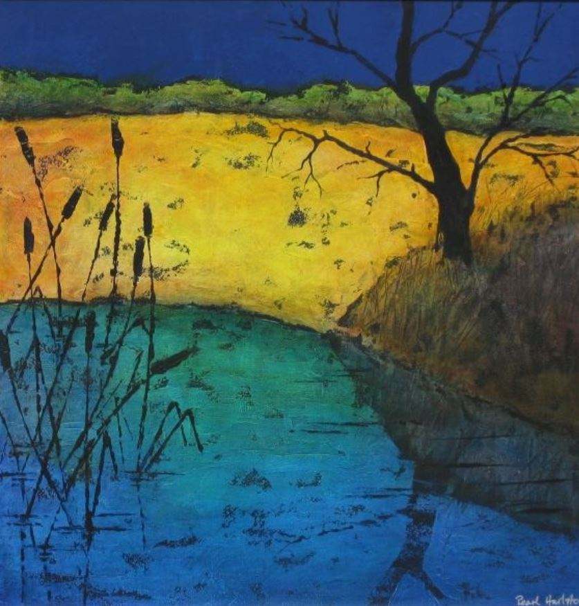 Edge of the River 2 by Pearl Hailstone