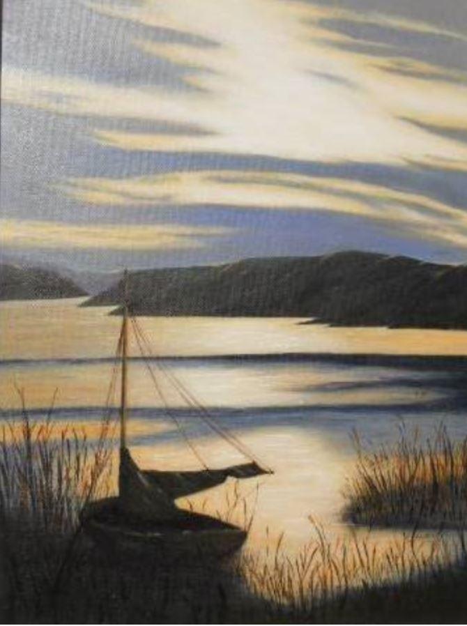 Golden Lake 2 by Elizabeth Bergqvist