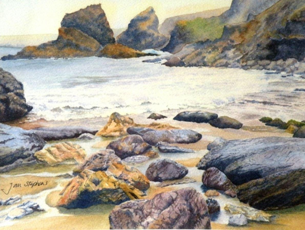 Rocky Cove by Jan Stevens