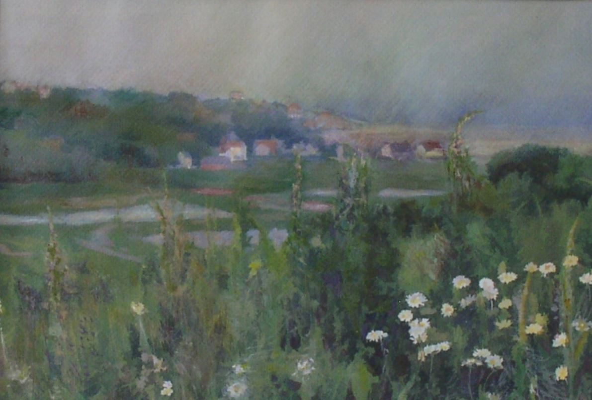 Water Meadows Normandy by Val Tierney