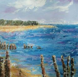 Lepe Beach by Susan Line