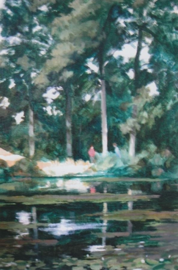 Lilly Pond by Alison Philips