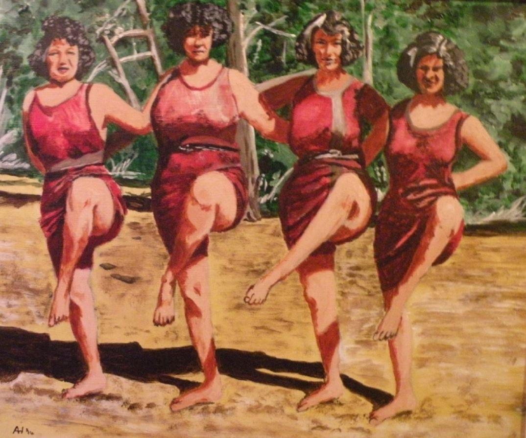 Dancing Girls by Alan Harding