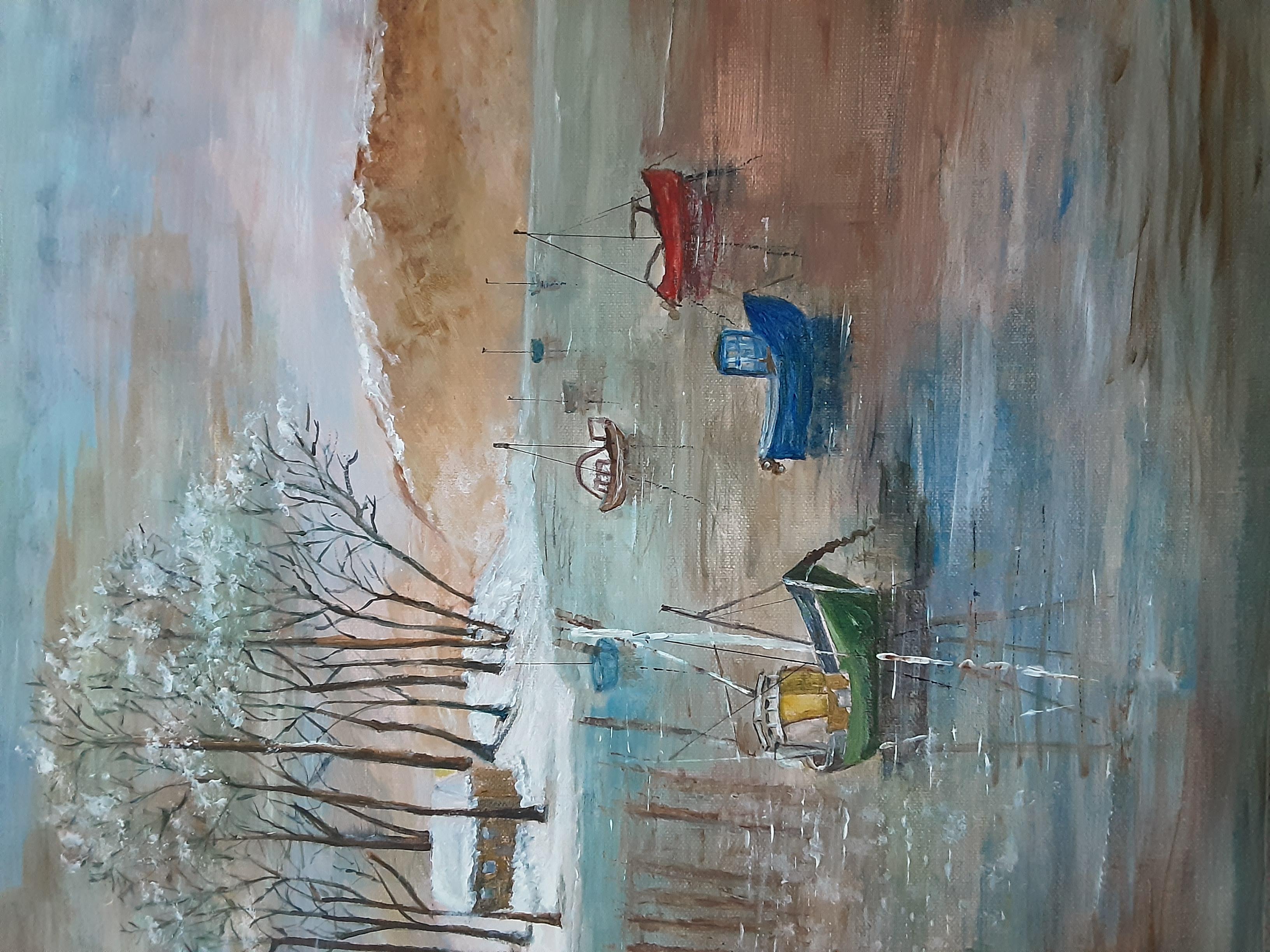 Caroline Lewin - Lake windermere
