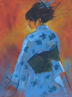 Blue Kimono by Pearl Hailstone.JPG