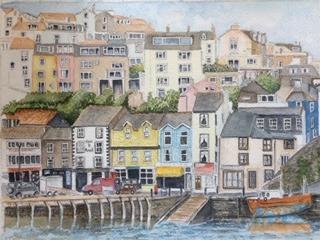 Carol Brindley - Brixham Harbour