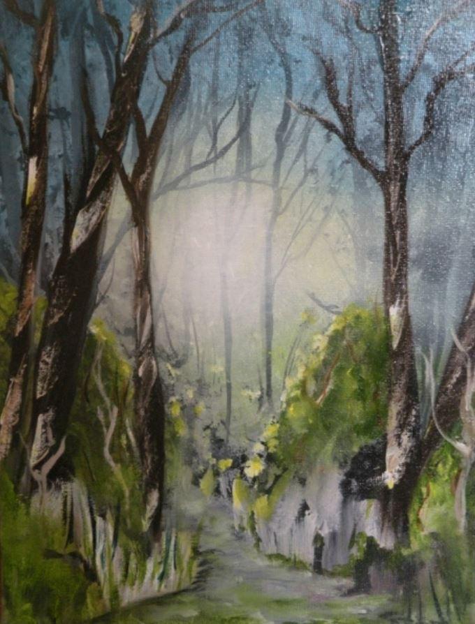 Woodland Path by Derek Smith