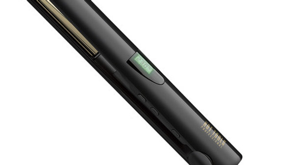HOT TOOLS GOLD TITANIUM 25MM DIGITAL SALON FLAT IRON