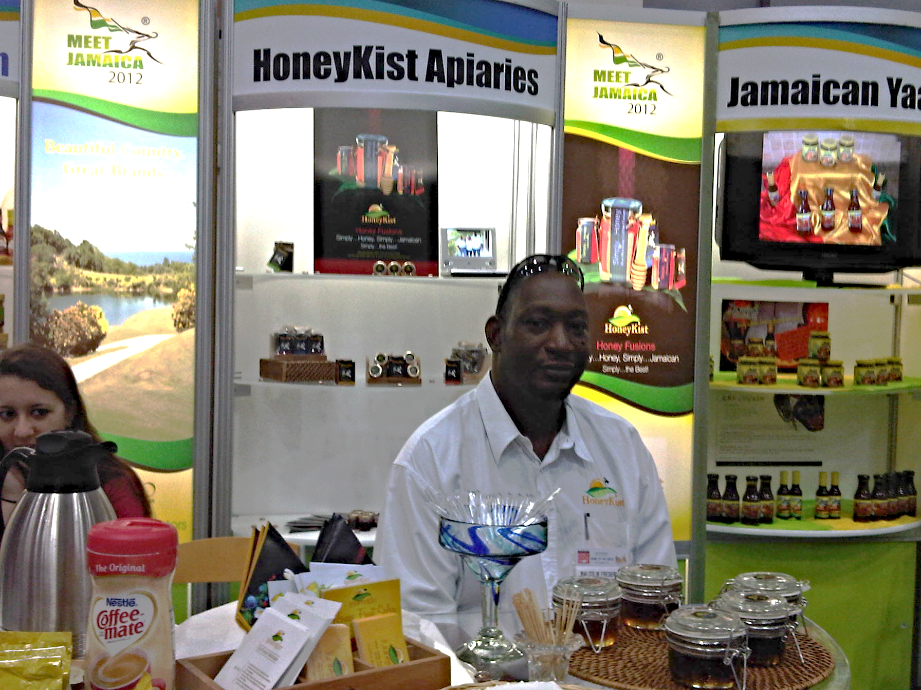 HoneyKist @ the 2012 Fancy Food Show