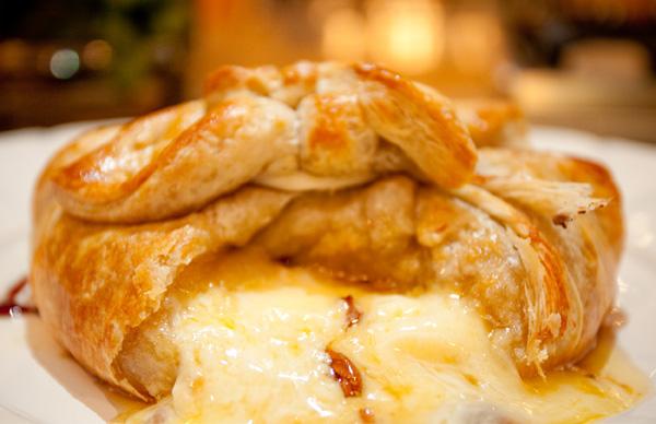 HoneyKist w/ Baked Brie & Truffle Oil
