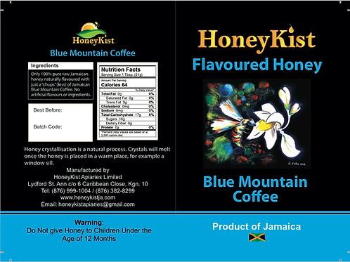 HoneyKist Blue Mountain Coffee Flavoured Honey 5oz